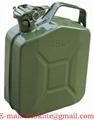 Metallista bensiinin ja dieselin kanisteri 5l