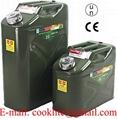 Metallinen bensakanisteri / Peltinen polttoainekannu / Varakanisteri polttoaine metallia
