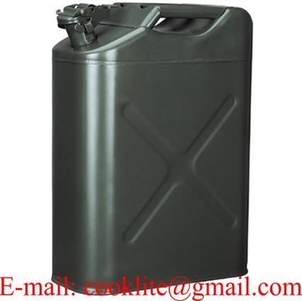 Metallinen polttoainekanisteri 20l