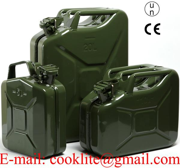 NATO army jerry can (UN / CE certified item) / Gasoline carrying can