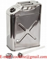 ステンレス製 縦型ガソリン携行缶 20L UN規格