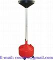 Miska na odčerpání oleje 30l 410 mm nastavitelná výška 123 -160 cm