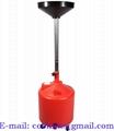 Pojízdná sběrná nádoba na vyjetý olej 75 litrů