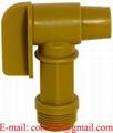 "Polyethylen aftapningshane 3/4""R guld tromlehane"