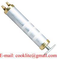 Ölpumpe Absaugpumpe Umfüllpumpe Öl Pumpe 0,5 L Fassungsvermögen 2 Eingänge