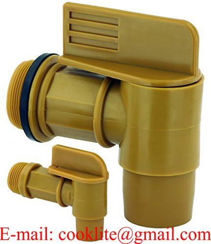 Plastový výpustný ventil-kohout na sud