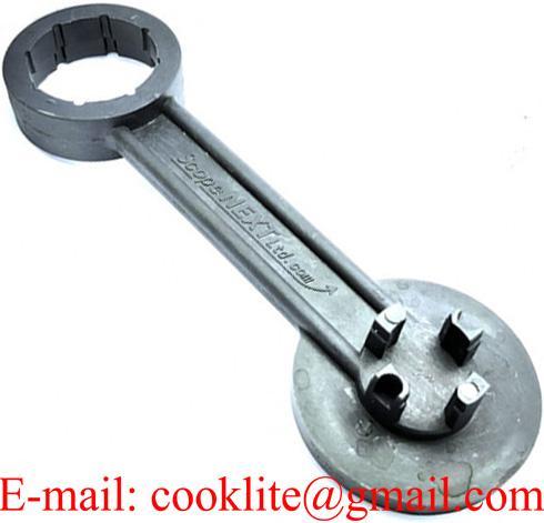 Allessluiter sleutel HDPE voor jerrycan doppen - DN51/61
