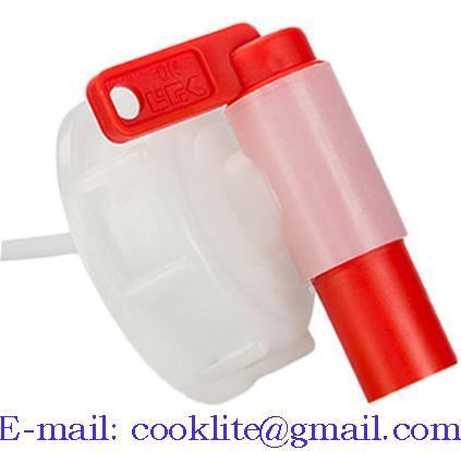DIN 61 FDA Polyethylene Anti-Glug Drum Faucet Spigot