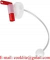 Drum Cap Tap Aeroflow Dispenser for Plastic Drum DIN 51