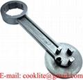 Klucz do otwierania kanistrów DIN51 DIN61 i beczek L-Ring ALL IN ONE