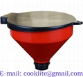 4 Quart Drum Funnel with 2 Inch Thread and Lockable Lid