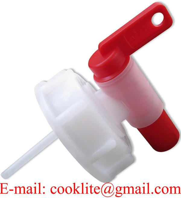 Grifo de plástico AH 61 para garrafas, diámetro rosca 61 mm