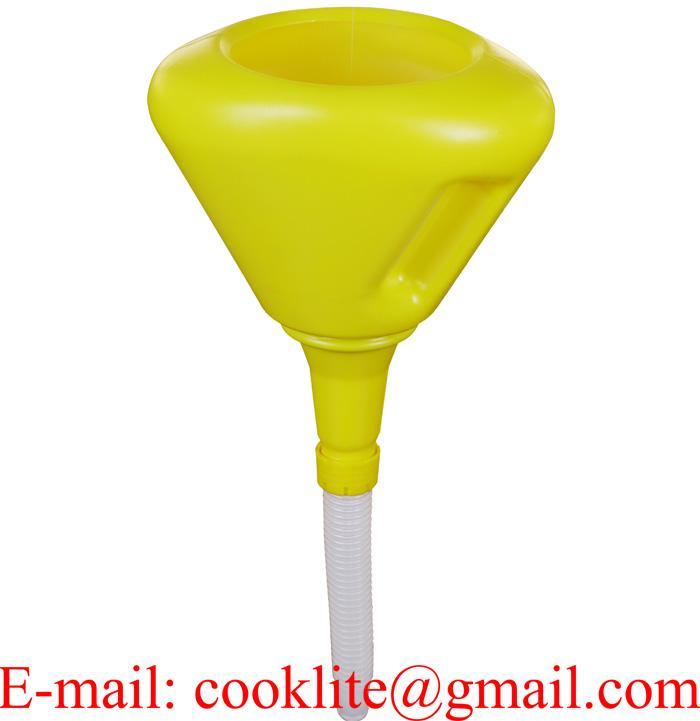 Embudo industrial aceite con filtro 2 lts