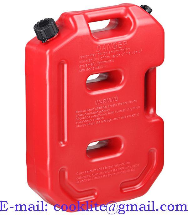 ג'ריקן דלק נייד שטוח 10 ליטר