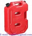 ג ריקן דלק נייד שטוח 10 ליטר