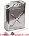 ג ריקן מים/דלק 20 ליטר מנירוסטה