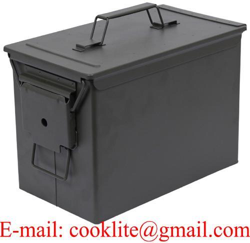 Militarā 50. kalibra munīcijas kaste