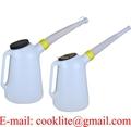 Ročka - kantica za olje 5 l s fleksibilno cevjo