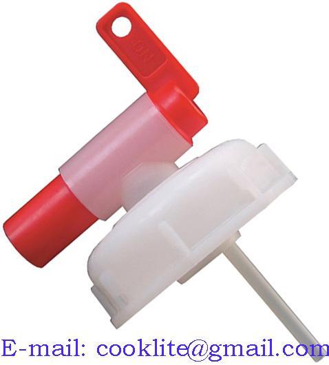 Крышка - кран сливной для канистр 20л, еврокубов, d 60 мм