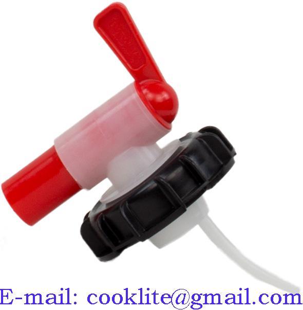 Кран-крышка химостойкая для канистры (бочки)