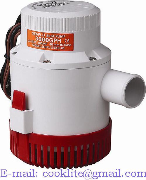 Marine elektriline pilsipump / Paadi pilsivee pump 12V/24V 3000GPH