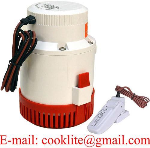 Bilgepumpe Lenzpumpe Wasserpumpe Bilgenpumpe Pumpe - 12V/24V 3500GPH