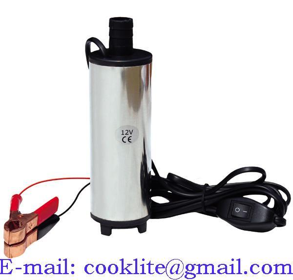 12/24V Pumpe für Diesel Öl Wasser Heizöl Tauchpumpe Dieselpumpe