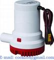 Pompa elettrica di sentina sommergibile 12V/24V 1500GPH