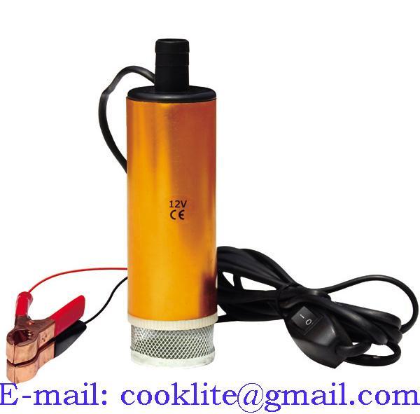 Елекстрическа потапяща помпа 12V/24V за източване на масло трансфер на течности, дизел, вода