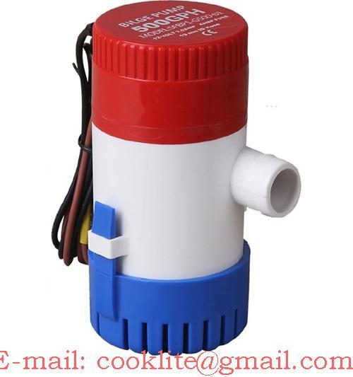 Povandeninė triumo pompa 12V/24V 350GPH