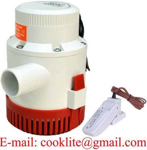 Povandeninė triumo siurblys/pompa 12V/24V 3500GPH