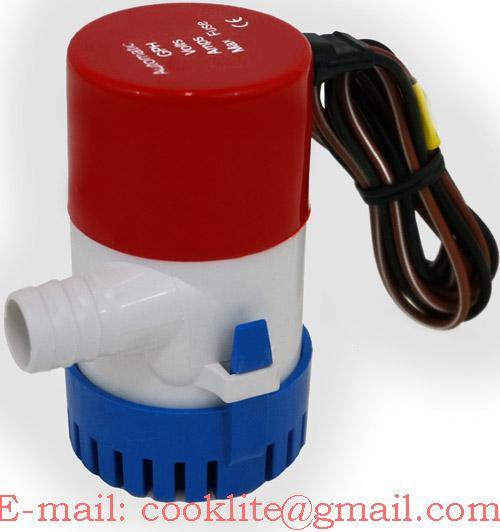 Pompa de santină submersibilă 12V/24V 350GPH