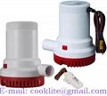 Bilgepomp / Dompelpomp / Lenspomp voor boot 12/24V 1500 GPH