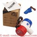 Elektrické ponorné vodní čerpadlo / Bilge pumpa 12-24V 1100GPH