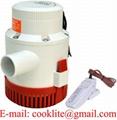 Elektrické ponorné vodní čerpadlo / Bilge pumpa 12-24V 3500GPH