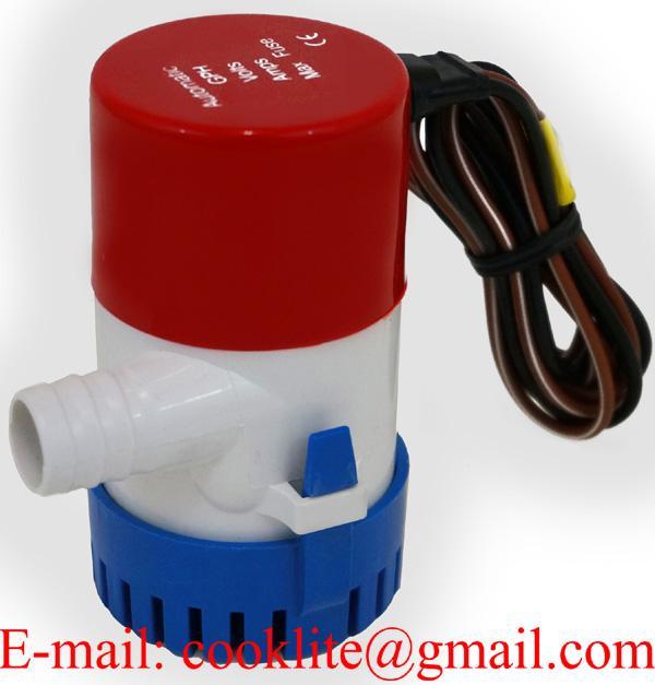 350 GPH 24V Boat Marine Plumbing Electric Bilge Pump