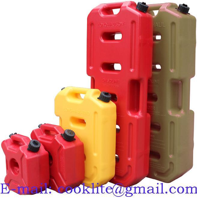 Kunststof jerrycan met schenktuit voor brandstof