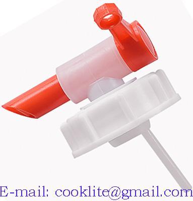 Ventil/kohút plastový 71mm na kanister na vodu