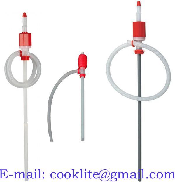 Sifónová (syfónová) sudová pumpa na kvapaliny / Ručné plastové čerpadlo