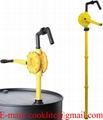Ručné rotačné sudové čerpadlo na chemikálie / Sudová pumpa z polypropylénu