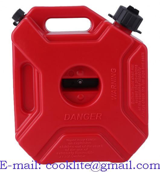 Jerigen PE 5L untuk Bensin Solar (Plastic Jerry Can)