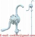 Ręczna rotacyjna pompa z polipropylenu przeznaczona do chemikaliów
