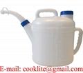 10 Litre Petrol Diesel Fuel Oil Measuring Jug Pouring Spout Lid Handle Plastic