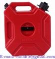 Пластиковая канистра экспедиционная 5л для бензина и др. топлива