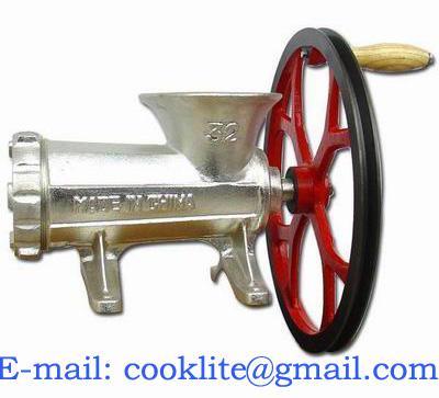 Picadora de carne manual de fundición M22
