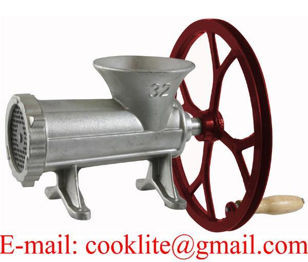 Picadora de carne manual de fundición M32