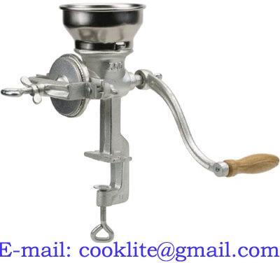 Moinho de cereais de milho de graos de malte manual