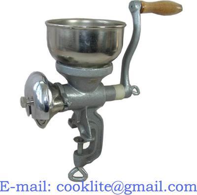 Moedor de malte manual em ferro fundido