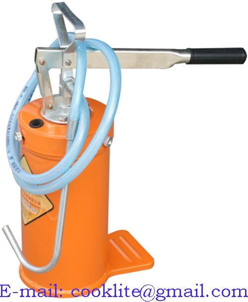 Balde/bomba manual para abastecimento de óleo 5kg