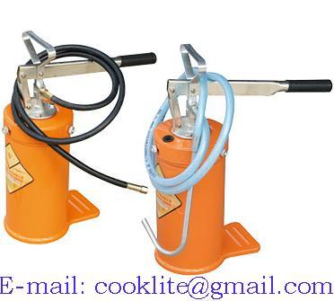 Manual High Pressure Grease Oil Bucket Pump Dispenser 5Kg
